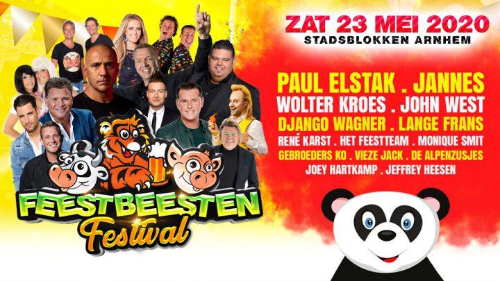 FEESTBEESTEN Festival 2020, het gezelligste festival van het jaar komt eraan!