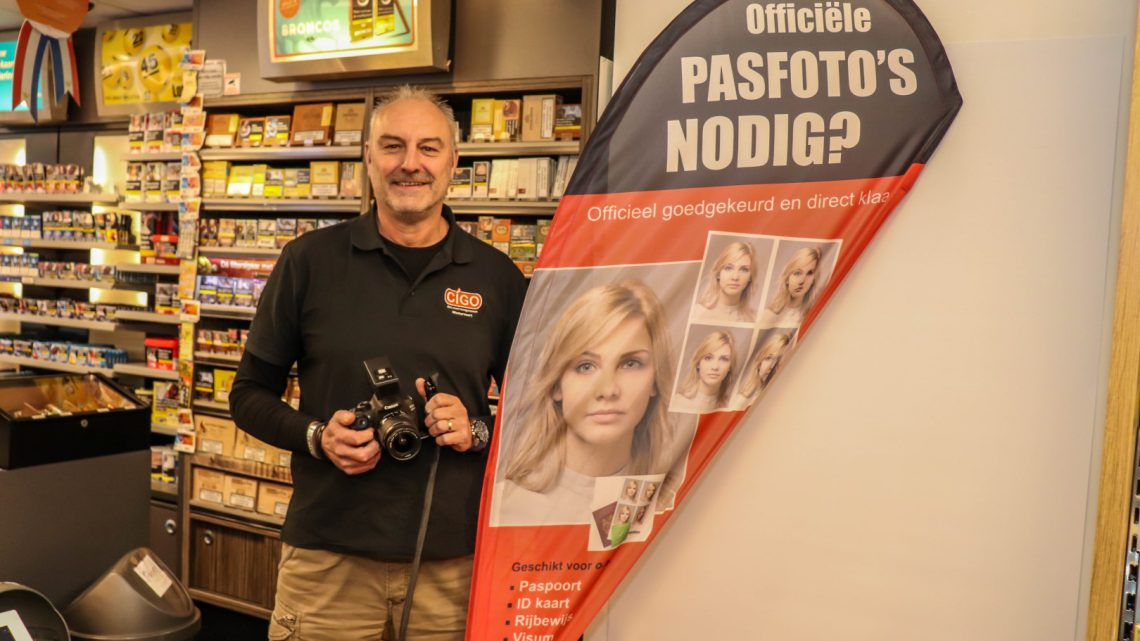 Nu ook pasfoto's laten maken bij CiGo Westervoort