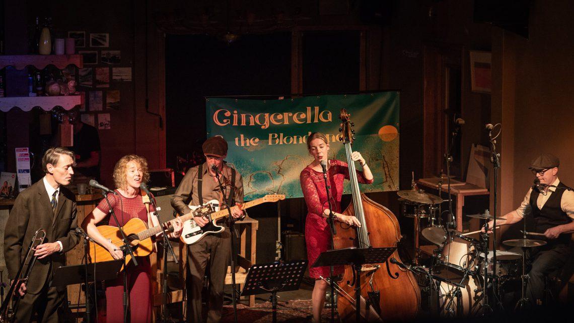 Gingerella & the Blondtones in Huize Vredenburg