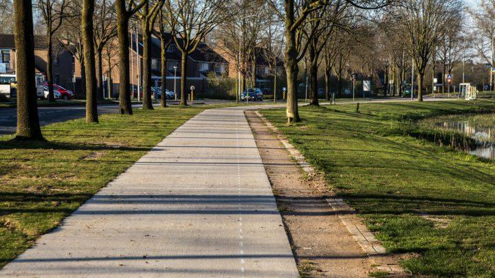 Voetpad Rivierweg wordt aangepast