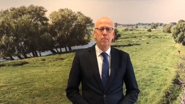 Toespraak burgemeester van Hout over het coronavirus