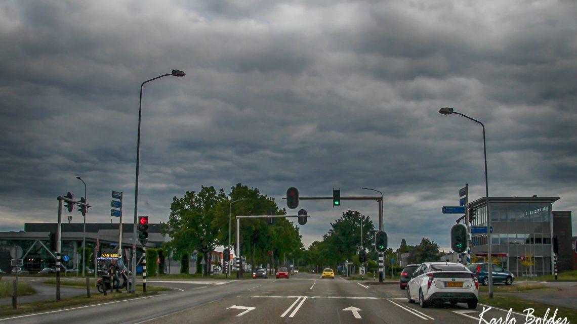 Verkeershinder door werkzaamheden kruispunt Rijksweg-Rivierweg-Hamersestraat