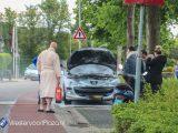 Buurtbewoners blussen autobrand op de Heilweg