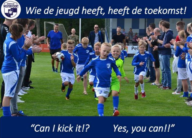 Can i Cick it!? Yes you can !! bij sportclub Westervoort
