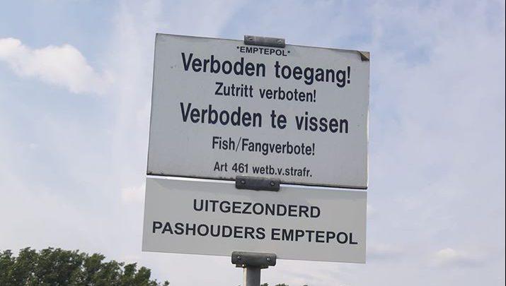 Proef met uitgifte van dagpassen voor vissen in voormalige jachthaven