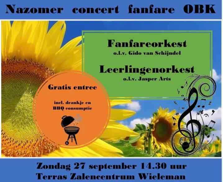 Nazomer concert fanfare OBK