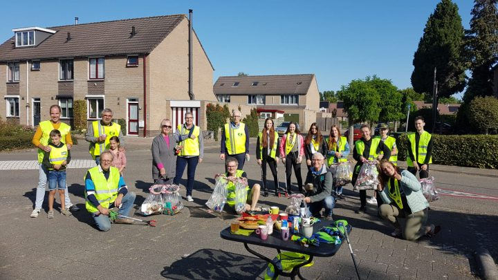 Succesvolle World cleanup day in Westervoort