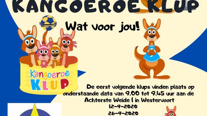 Korfbalvereniging Wesstar Start met Kangoeroe Klup voor kinderen van 4 tot 8 jaar