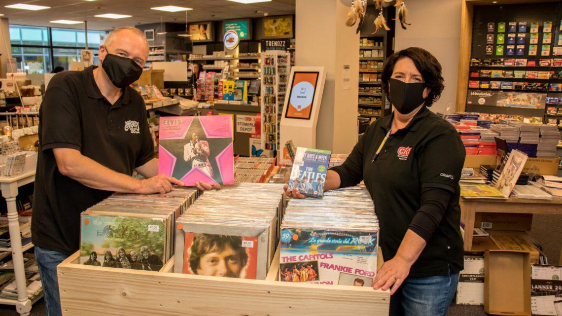 In Westervoort kun je weer terecht voor LP's, Single's en CD's