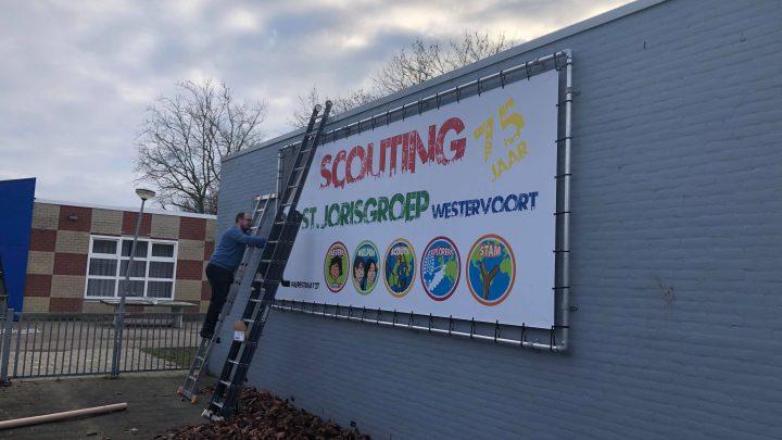 Scouting St. Jorisgroep Westervoort bestaat 75 jaar !