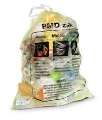 Proef met 2 inzamelplekken voor plastic verpakkingen