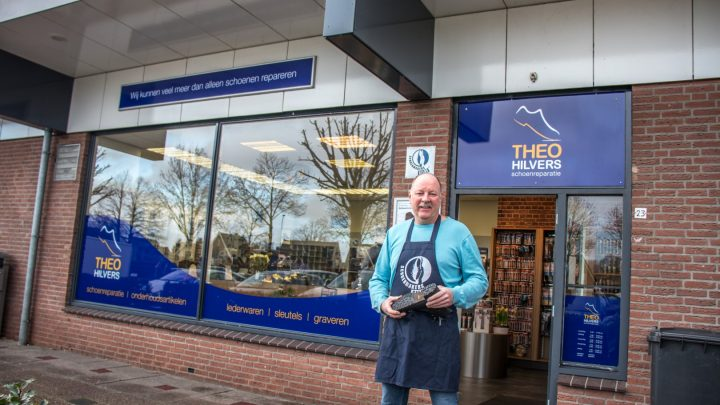 Schuiling schoenreparatie overgenomen, zelfde service bij Theo Hilvers schoenreparatie
