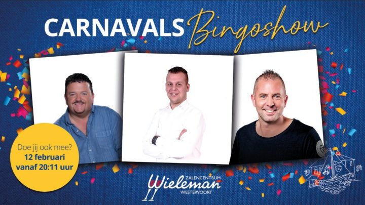 Carnavals Bingo Show in Doldorp