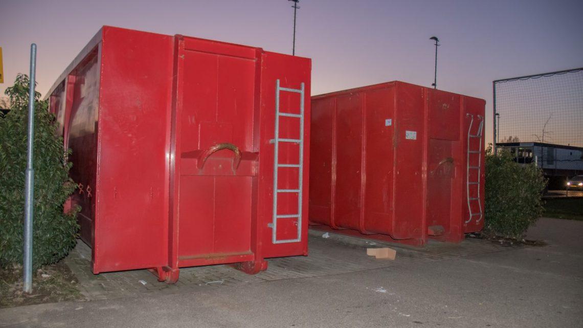 Containers voor papierinzameling mogen op terrein AVW'66 blijven staan