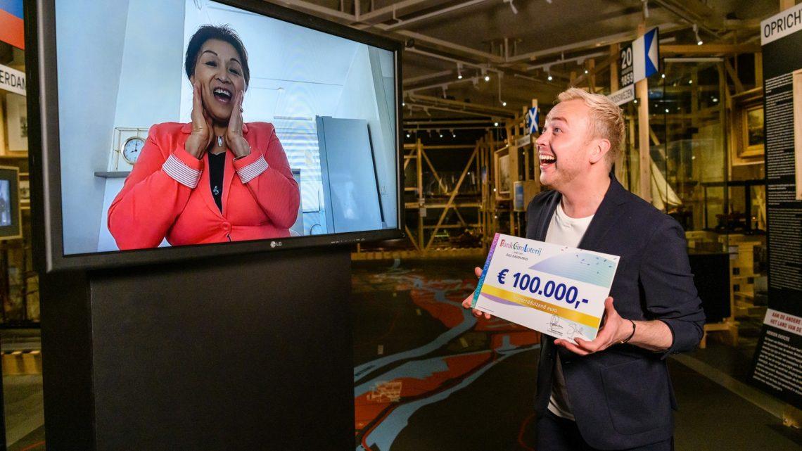 Deetye uit Westervoort verrast met 100.000 euro van BankGiro Loterij