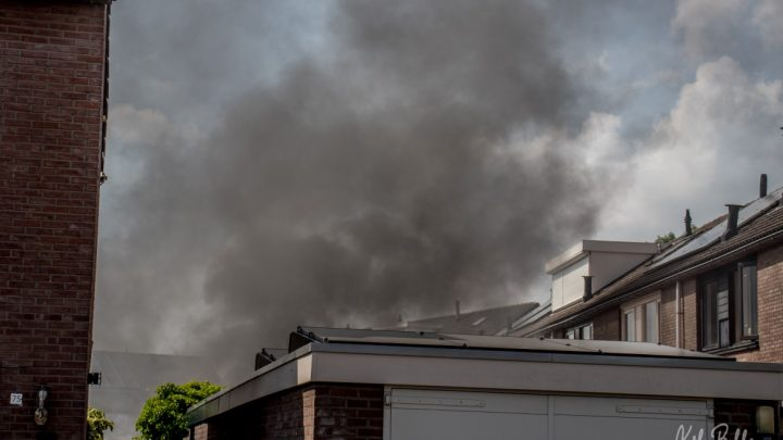 Schuurbrand op de Waemelslant in Westervoort