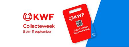 KWF Westervoort start collecteweek zonder contant geld. Alleen via QR-code!