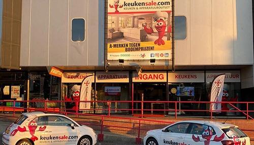 Keukensale.com Nijmegen opnieuw sponsor Westervoortplaza en Arnhemplaza