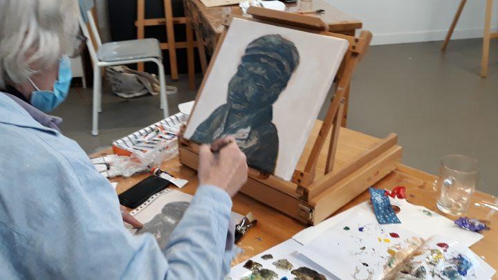 Kom schilderen in het atelier van Marieke Laverman