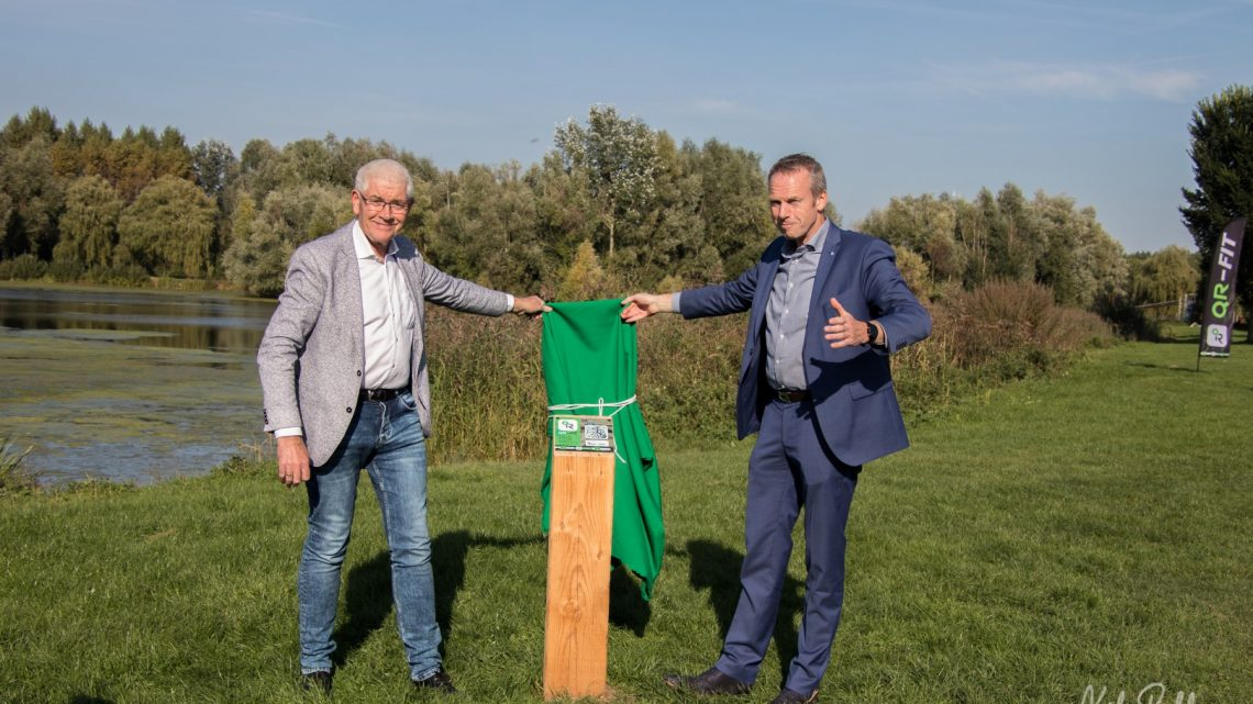 Opening QR-Fit beweegroute