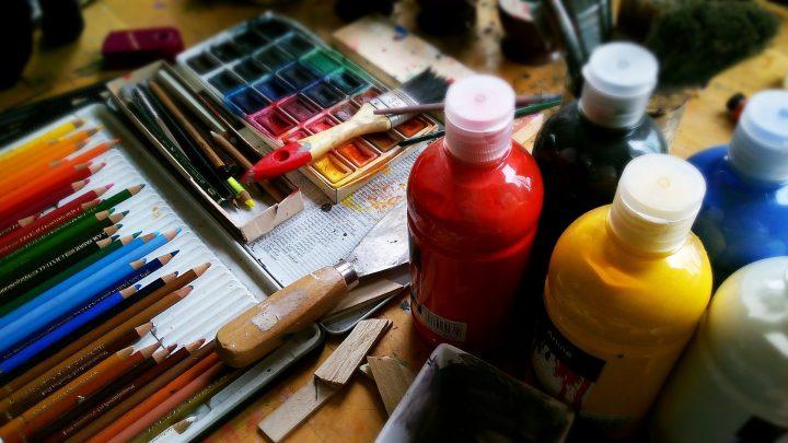Teken- en schildercursus in het Trefcentrum